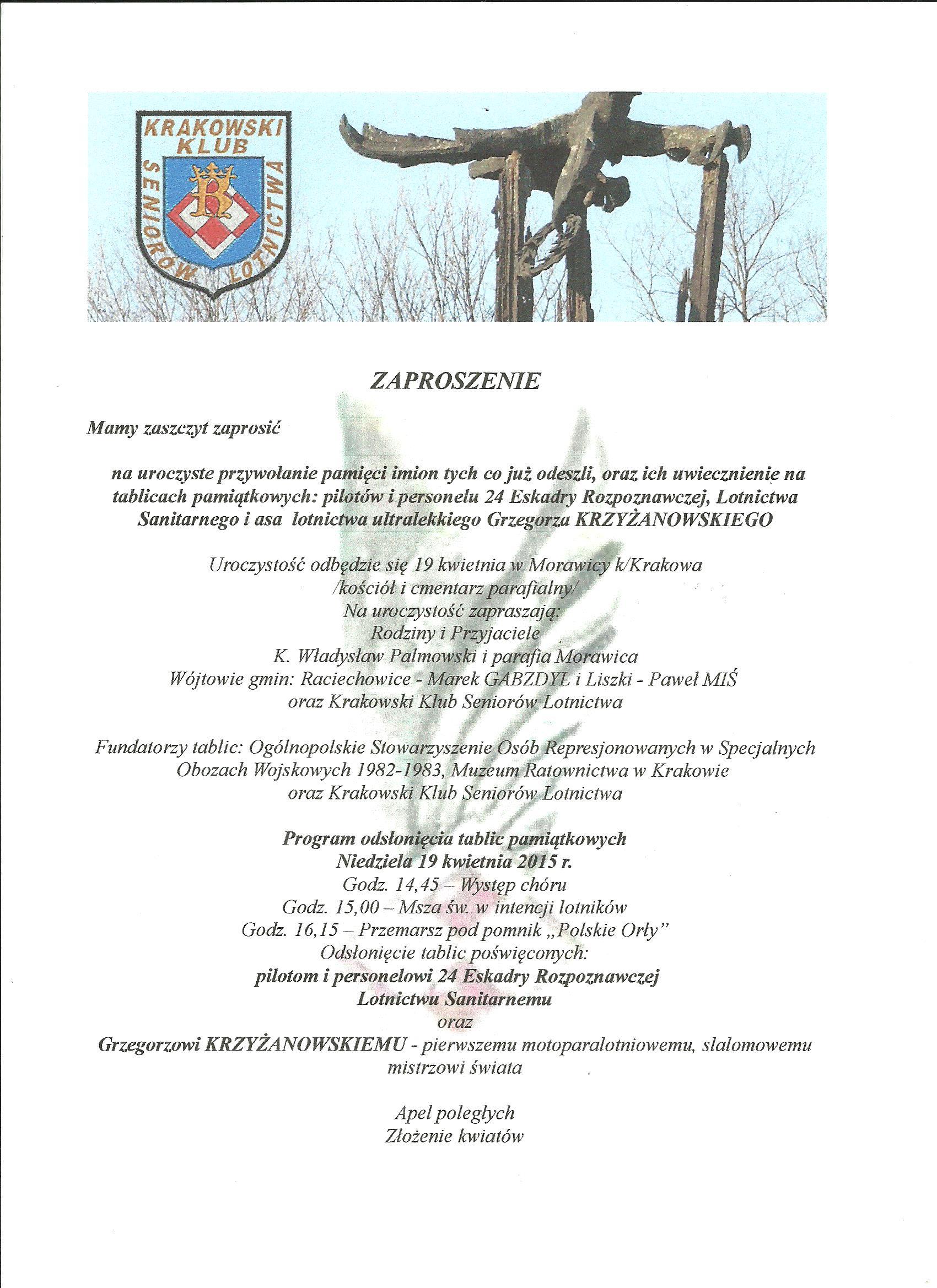 Krzyżanowski skan zaproszenia 001.png